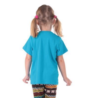 Tričko krátký rukáv Laura tmavě modré od 122-146 - 6