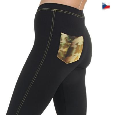 Kalhotové legíny Chewie černé - 6