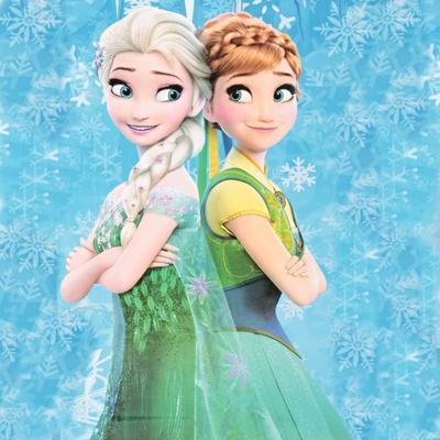 Karnevalový kostým princezna Elsa zelený - 6