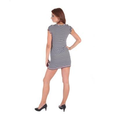 Pruhované dámské letní šaty Landy - 7
