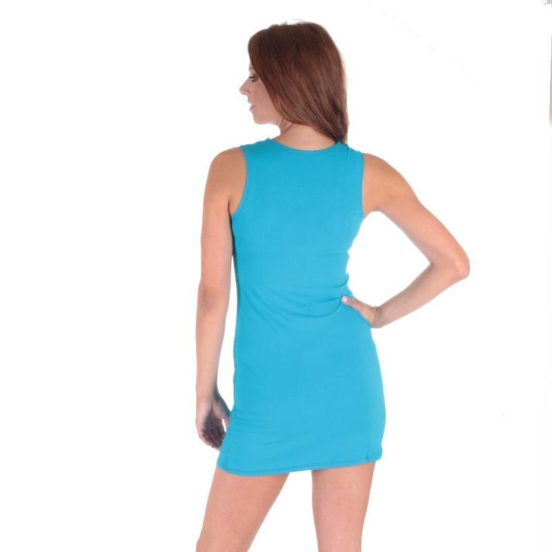 6eacbf8a577 Tmavě modré letní šaty Pandora - 38 38 - Afrodit.cz